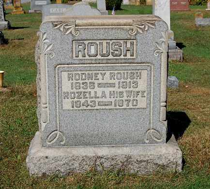 ROUSH, ROZELLA - Gallia County, Ohio | ROZELLA ROUSH - Ohio Gravestone Photos