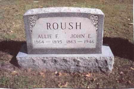 ROUSH, ALLIE F. - Gallia County, Ohio | ALLIE F. ROUSH - Ohio Gravestone Photos