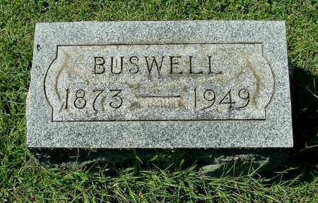 ROUSH, BUSWELL - Gallia County, Ohio   BUSWELL ROUSH - Ohio Gravestone Photos