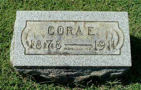 SADDLER ROUSH, CORA E - Gallia County, Ohio | CORA E SADDLER ROUSH - Ohio Gravestone Photos