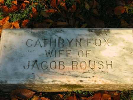 ROUSH, CATHRYN - Gallia County, Ohio | CATHRYN ROUSH - Ohio Gravestone Photos