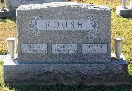 ROUSH, CARRIE - Gallia County, Ohio | CARRIE ROUSH - Ohio Gravestone Photos