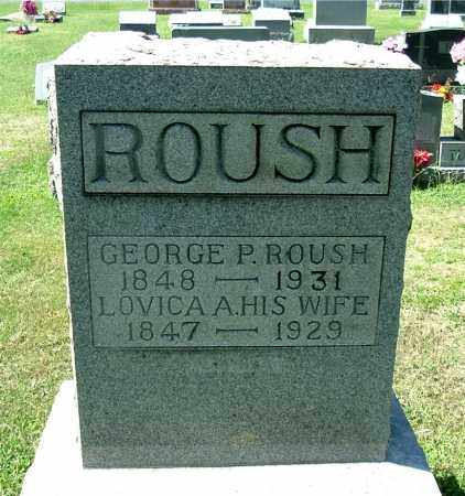 ROUSH, GEORGE PERRY - Gallia County, Ohio | GEORGE PERRY ROUSH - Ohio Gravestone Photos