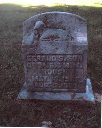ROUSH, GERALD S. - Gallia County, Ohio | GERALD S. ROUSH - Ohio Gravestone Photos