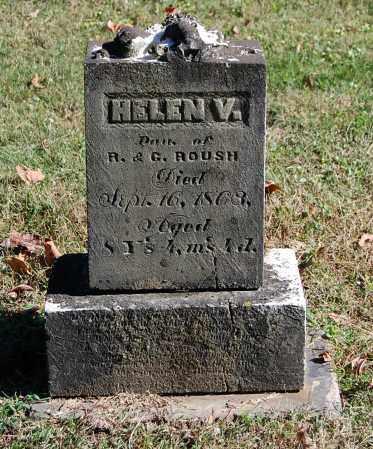 ROUSH, HELEN V - Gallia County, Ohio | HELEN V ROUSH - Ohio Gravestone Photos