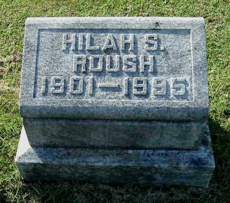 SWISHER ROUSH, HILAH S - Gallia County, Ohio | HILAH S SWISHER ROUSH - Ohio Gravestone Photos
