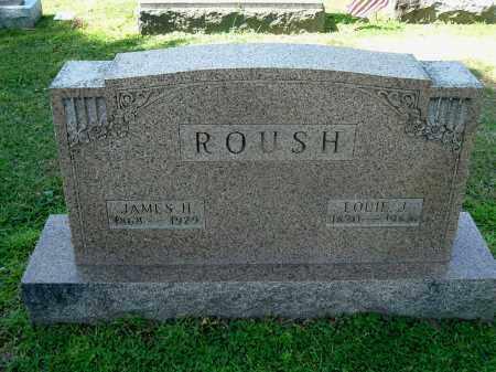 ROUSH, JAMES H - Gallia County, Ohio | JAMES H ROUSH - Ohio Gravestone Photos
