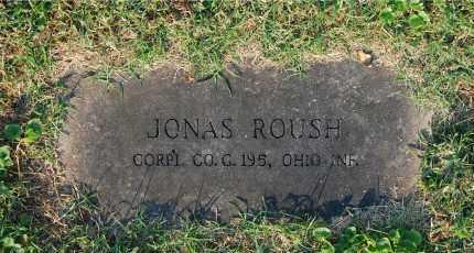 ROUSH, JONAS - Gallia County, Ohio   JONAS ROUSH - Ohio Gravestone Photos