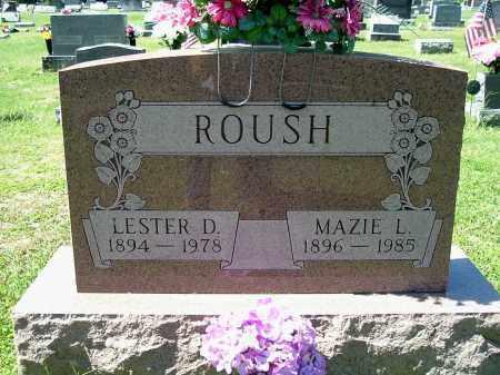 ROUSH, MAZIE L - Gallia County, Ohio | MAZIE L ROUSH - Ohio Gravestone Photos