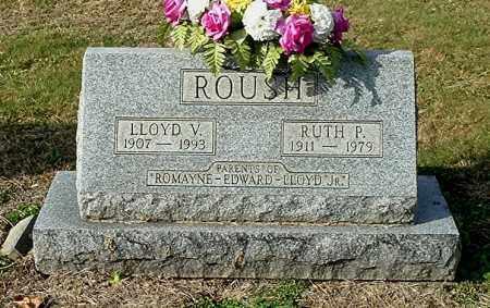 ROUSH, LLOYD V - Gallia County, Ohio | LLOYD V ROUSH - Ohio Gravestone Photos