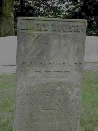 ROUSH, MARY - Gallia County, Ohio   MARY ROUSH - Ohio Gravestone Photos