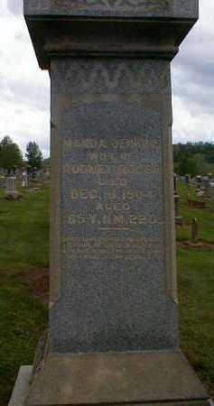 JENKINS ROUSH, MANDA - Gallia County, Ohio | MANDA JENKINS ROUSH - Ohio Gravestone Photos