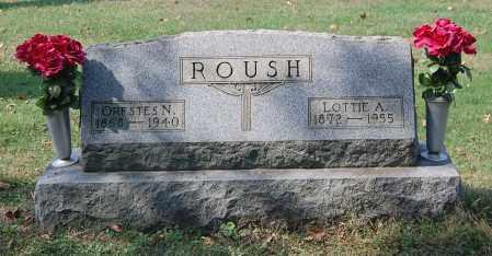 VANCE ROUSH, LOTTIE A - Gallia County, Ohio | LOTTIE A VANCE ROUSH - Ohio Gravestone Photos