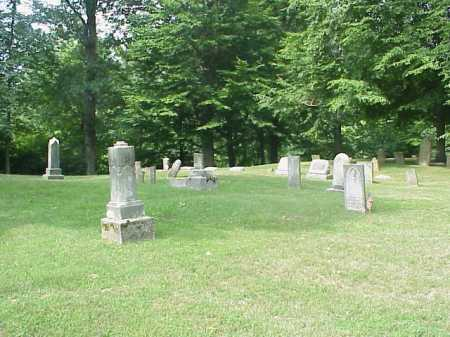 ROUSH OVERVIEW 2, CEMETERY - Gallia County, Ohio | CEMETERY ROUSH OVERVIEW 2 - Ohio Gravestone Photos