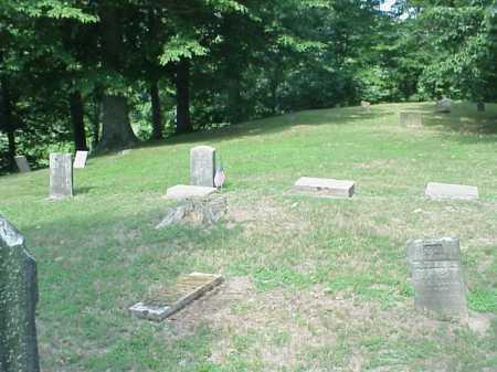 ROUSH OVERVIEW 3, CEMETERY - Gallia County, Ohio | CEMETERY ROUSH OVERVIEW 3 - Ohio Gravestone Photos