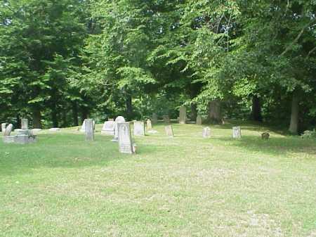 ROUSH OVERVIEW, CEMETERY - Gallia County, Ohio   CEMETERY ROUSH OVERVIEW - Ohio Gravestone Photos