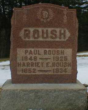ROUSH, HARRIET - Gallia County, Ohio   HARRIET ROUSH - Ohio Gravestone Photos