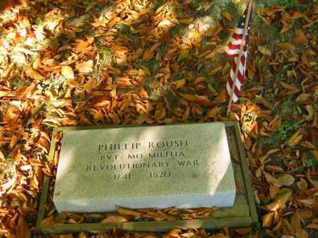 ROUSH, PHILLIP - Gallia County, Ohio   PHILLIP ROUSH - Ohio Gravestone Photos