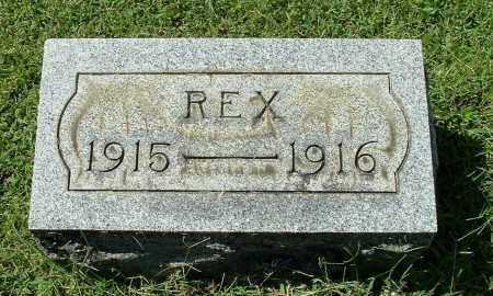 ROUSH, REX - Gallia County, Ohio | REX ROUSH - Ohio Gravestone Photos