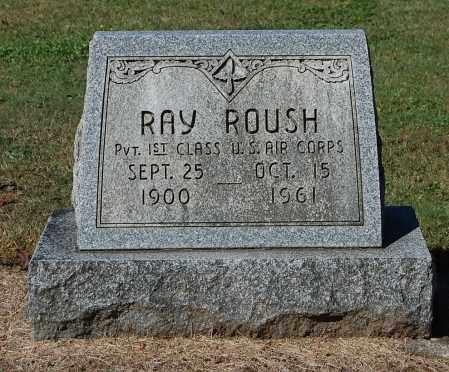 ROUSH, RAY - Gallia County, Ohio | RAY ROUSH - Ohio Gravestone Photos