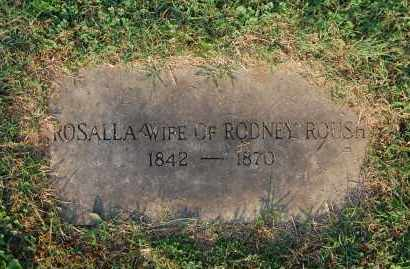 ROUSH, ROSALLA - Gallia County, Ohio | ROSALLA ROUSH - Ohio Gravestone Photos
