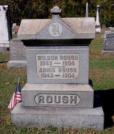 ROUSH, ANNIS - Gallia County, Ohio | ANNIS ROUSH - Ohio Gravestone Photos