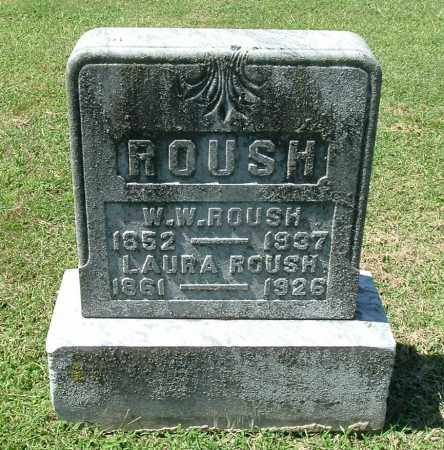 ROUSH, W. W. - Gallia County, Ohio | W. W. ROUSH - Ohio Gravestone Photos