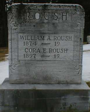 ROUSH, CORA - Gallia County, Ohio | CORA ROUSH - Ohio Gravestone Photos