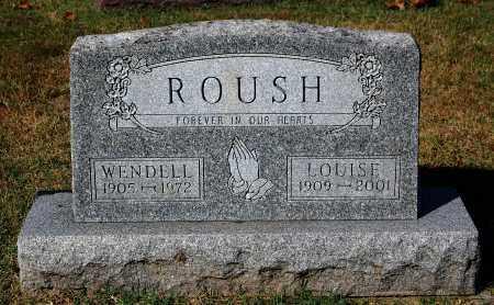ROUSH, LOUISE - Gallia County, Ohio | LOUISE ROUSH - Ohio Gravestone Photos