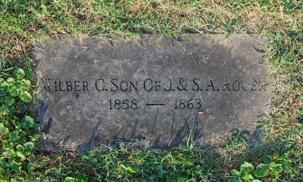 ROUSH, WILBER C - Gallia County, Ohio | WILBER C ROUSH - Ohio Gravestone Photos
