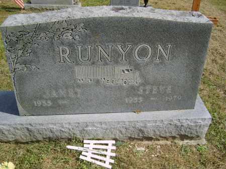 RUNYON, STEVE - Gallia County, Ohio | STEVE RUNYON - Ohio Gravestone Photos