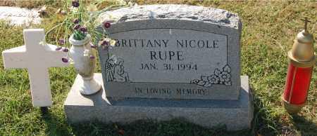 RUPE, BRITTANY NICOLE - Gallia County, Ohio   BRITTANY NICOLE RUPE - Ohio Gravestone Photos