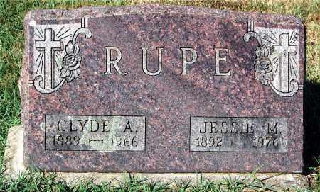 RUPE, JESSIE M - Gallia County, Ohio | JESSIE M RUPE - Ohio Gravestone Photos