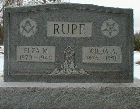 RUPE, WILDA - Gallia County, Ohio   WILDA RUPE - Ohio Gravestone Photos