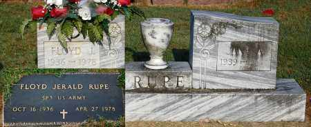 RUPE, FLOYD JERALD - Gallia County, Ohio | FLOYD JERALD RUPE - Ohio Gravestone Photos