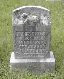 RUPE, GRACE - Gallia County, Ohio | GRACE RUPE - Ohio Gravestone Photos