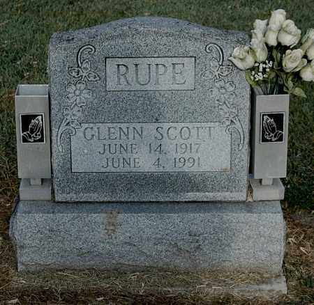RUPE, GLENN SCOTT - Gallia County, Ohio | GLENN SCOTT RUPE - Ohio Gravestone Photos