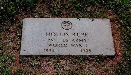 RUPE, HOLLIS S - Gallia County, Ohio   HOLLIS S RUPE - Ohio Gravestone Photos