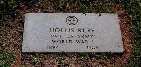 RUPE, HOLLIS S - Gallia County, Ohio | HOLLIS S RUPE - Ohio Gravestone Photos