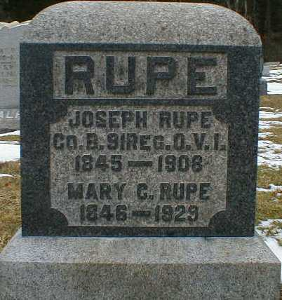 RALPH RUPE, MARY - Gallia County, Ohio | MARY RALPH RUPE - Ohio Gravestone Photos