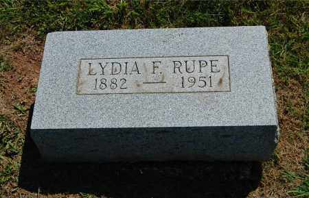 SEARLS RUPE, LYDIA FLORENCE - Gallia County, Ohio | LYDIA FLORENCE SEARLS RUPE - Ohio Gravestone Photos