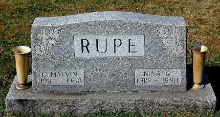 RUPE, NINA G. - Gallia County, Ohio   NINA G. RUPE - Ohio Gravestone Photos
