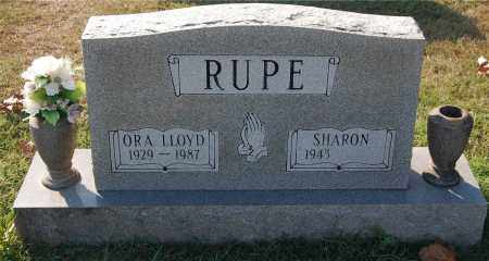 RUPE, ORA LLOYD - Gallia County, Ohio | ORA LLOYD RUPE - Ohio Gravestone Photos