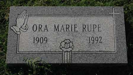 RUPE, ORA MARIE - Gallia County, Ohio | ORA MARIE RUPE - Ohio Gravestone Photos