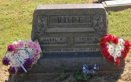 RUPE, VIOLET AGNES - Gallia County, Ohio | VIOLET AGNES RUPE - Ohio Gravestone Photos