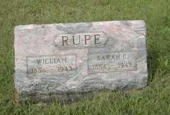RUPE, WILLIAM - Gallia County, Ohio | WILLIAM RUPE - Ohio Gravestone Photos