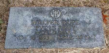 RUPE, WALTER - Gallia County, Ohio | WALTER RUPE - Ohio Gravestone Photos