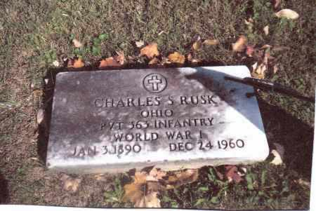 RUSK, CHARLES S. - Gallia County, Ohio | CHARLES S. RUSK - Ohio Gravestone Photos