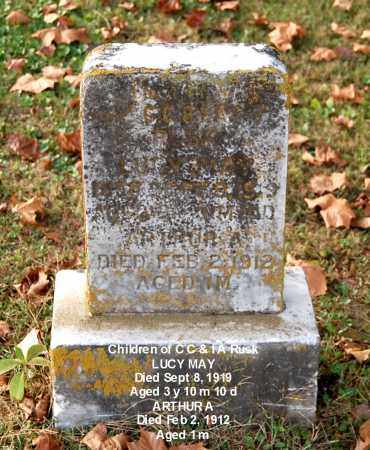 RUSK, LUCY MAY - Gallia County, Ohio | LUCY MAY RUSK - Ohio Gravestone Photos