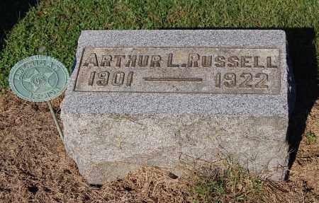 RUSSELL, ARTHUR L - Gallia County, Ohio | ARTHUR L RUSSELL - Ohio Gravestone Photos